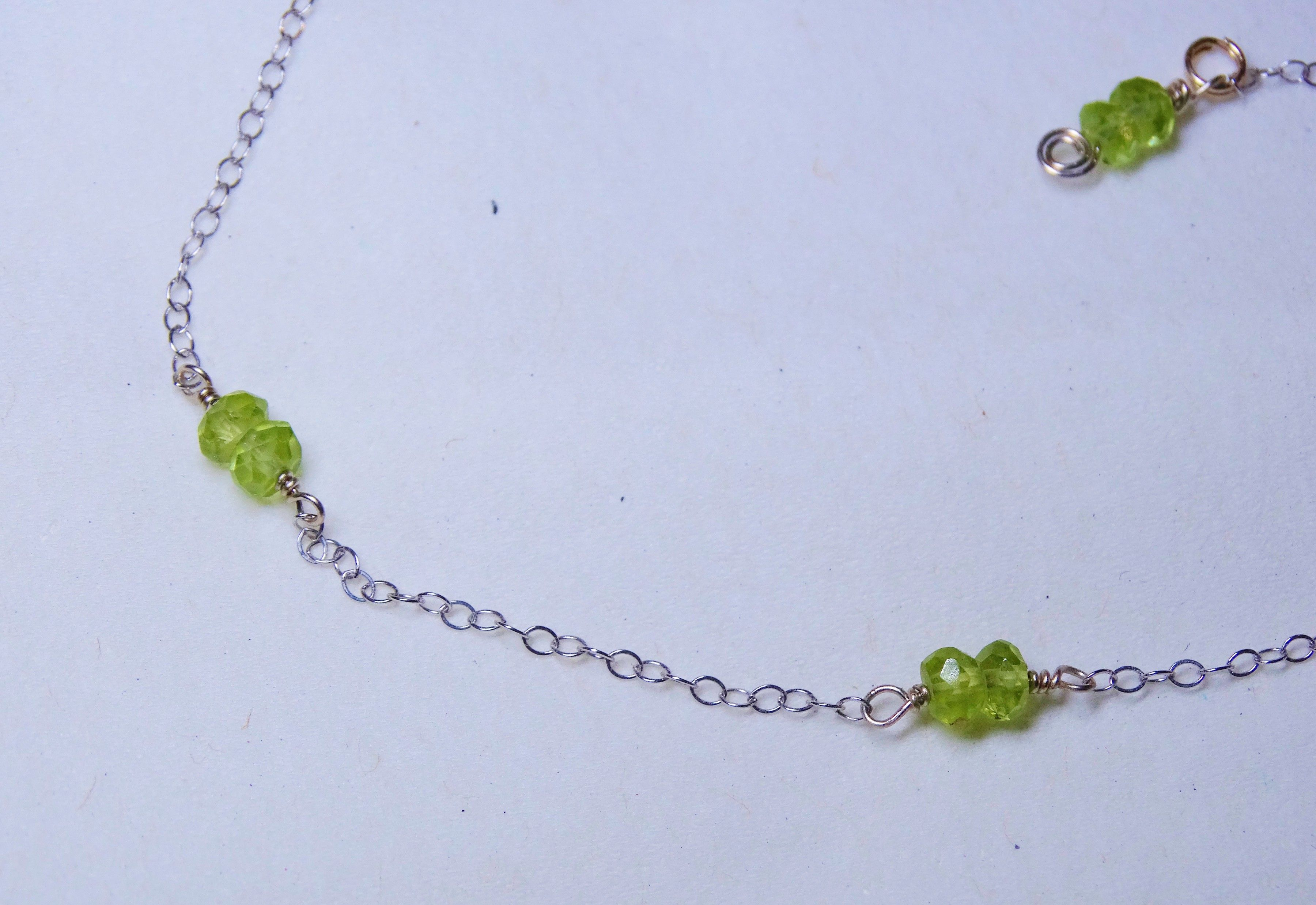 october s personalized crystal anklet tourmaline il listing dainty anklets mother for her birthstone fullxfull
