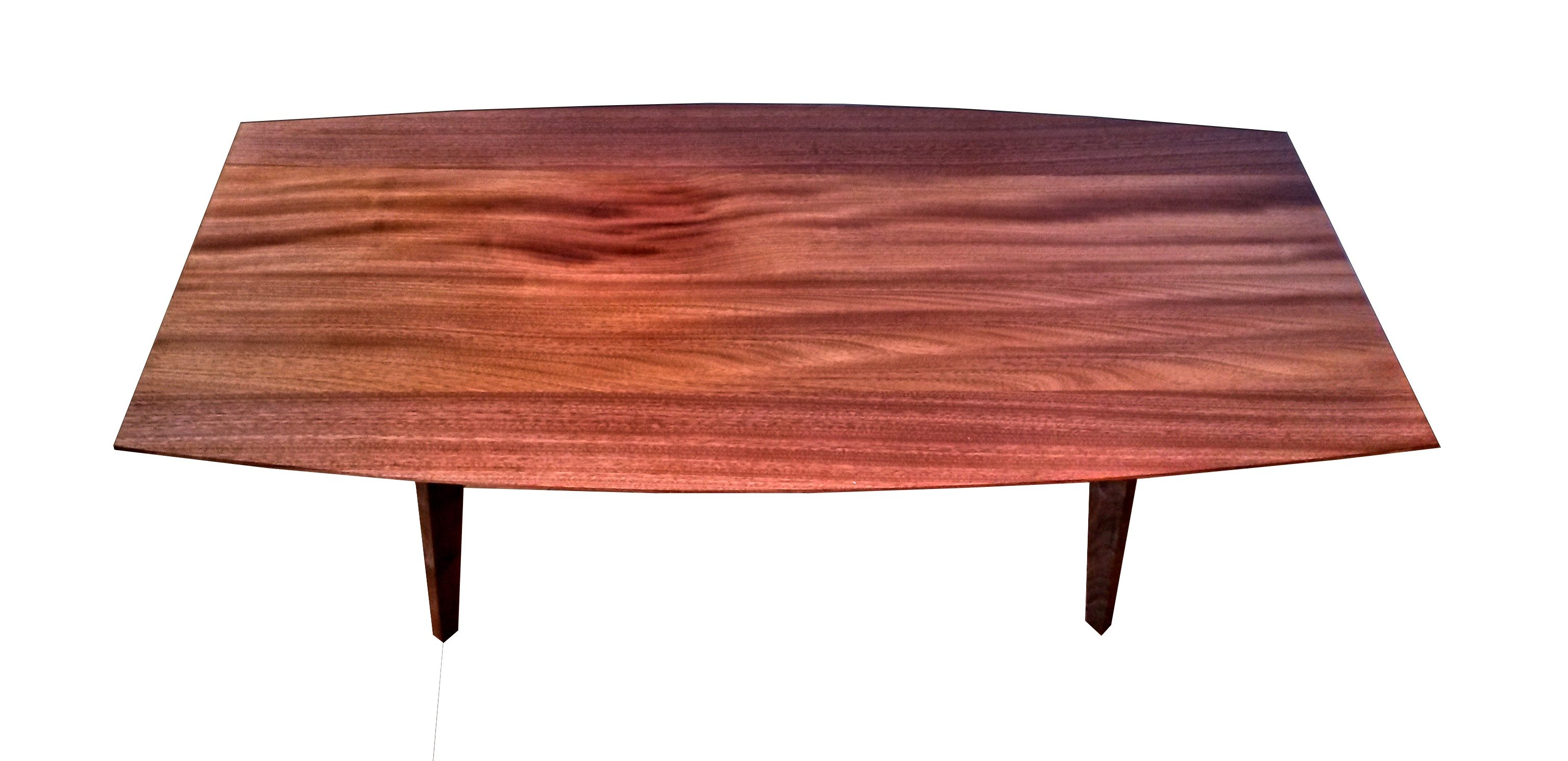 Hand Made African Mahogany Table Living Room Table Accent Coffee