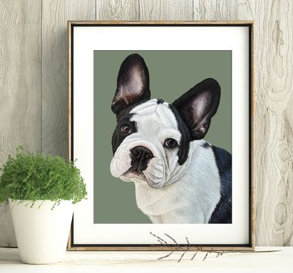 Custom Made Custom Pet Portrait - 11x14""