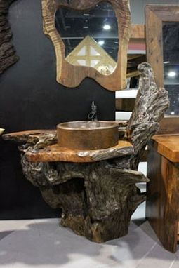 Hand Made Rustic Vanities By Littlebranch Farm
