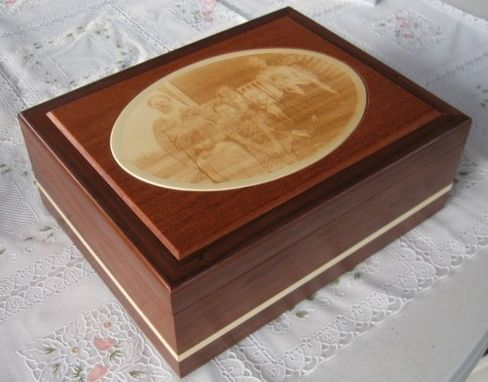 Custom Made Custom Keepsake Box