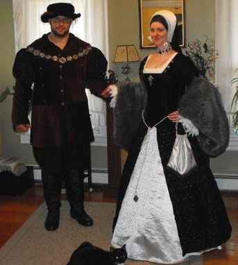 Custom Made His & Hers Tudor Wedding Garb