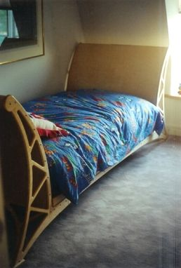 Custom Made Modern Sleigh Day Bed