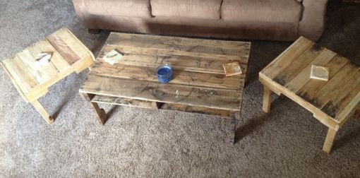 Custom Made Reclaimed Coffee And/Or End Tables
