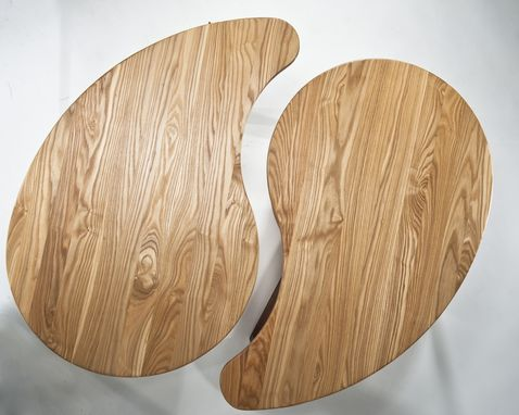 Hand crafted ying yang yong tables modern modular tables for Table yin yang