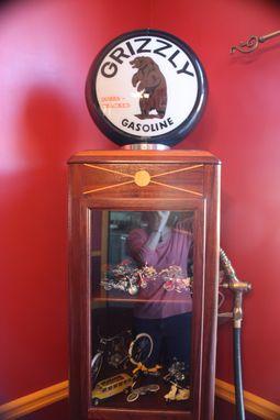Custom Gas Pump Curio Cabinet By Ltl Wood Creations