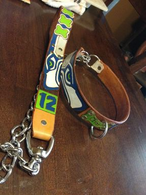 Custom Made Leash And Collar Combinations