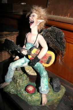 Custom Made Fairy Boy On Guitar