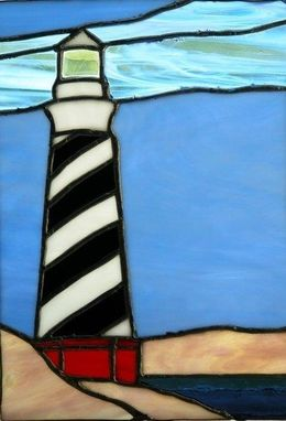 Custom Made Cape Hatteras Lighthouse Panel