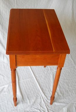 Custom Made Sheraton Solid Cherry Nightstand