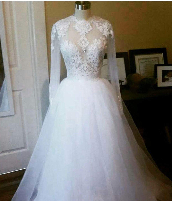 Custom Made 2pc Wedding Dress