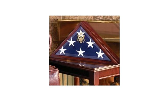 Custom Made Burial Flag Case