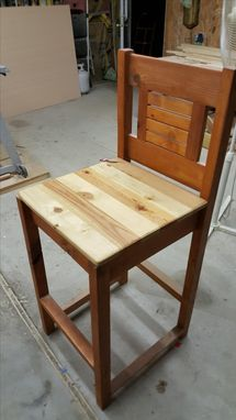 Custom Made Ladder Back Chairs
