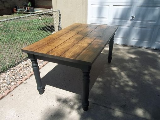 Custom Made Custom Farm Table.......Rustic