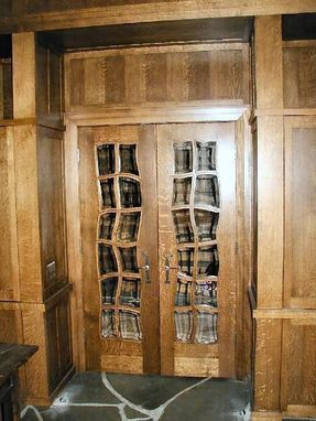 Handmade Library Doors By A K Services Inc Custommade Com