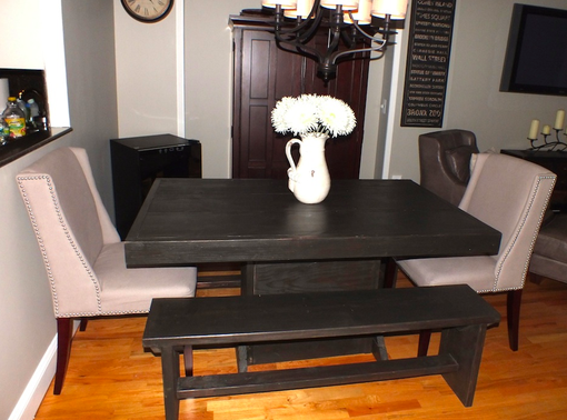 Custom Made Pedestal Dining Set
