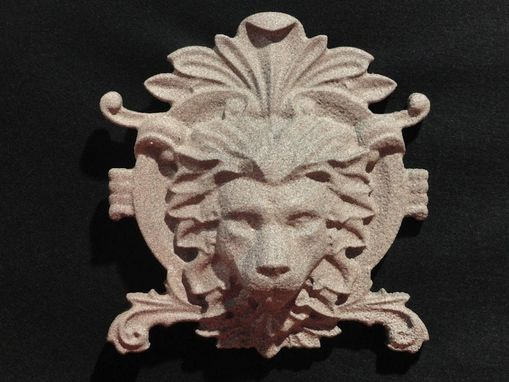 Custom Made Lion Head Wall Decor