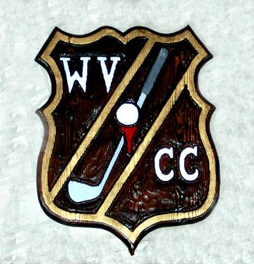 Custom Made Country Club Sign