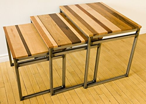 Custom Made Off-Cut Nesting Tables