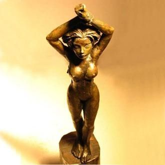 Custom Made Bronze Sculptures & Silver Jewelry