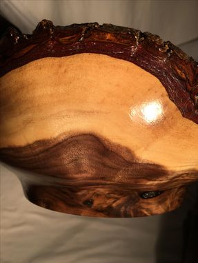 Custom Made Walnut Natural Edge Bowl