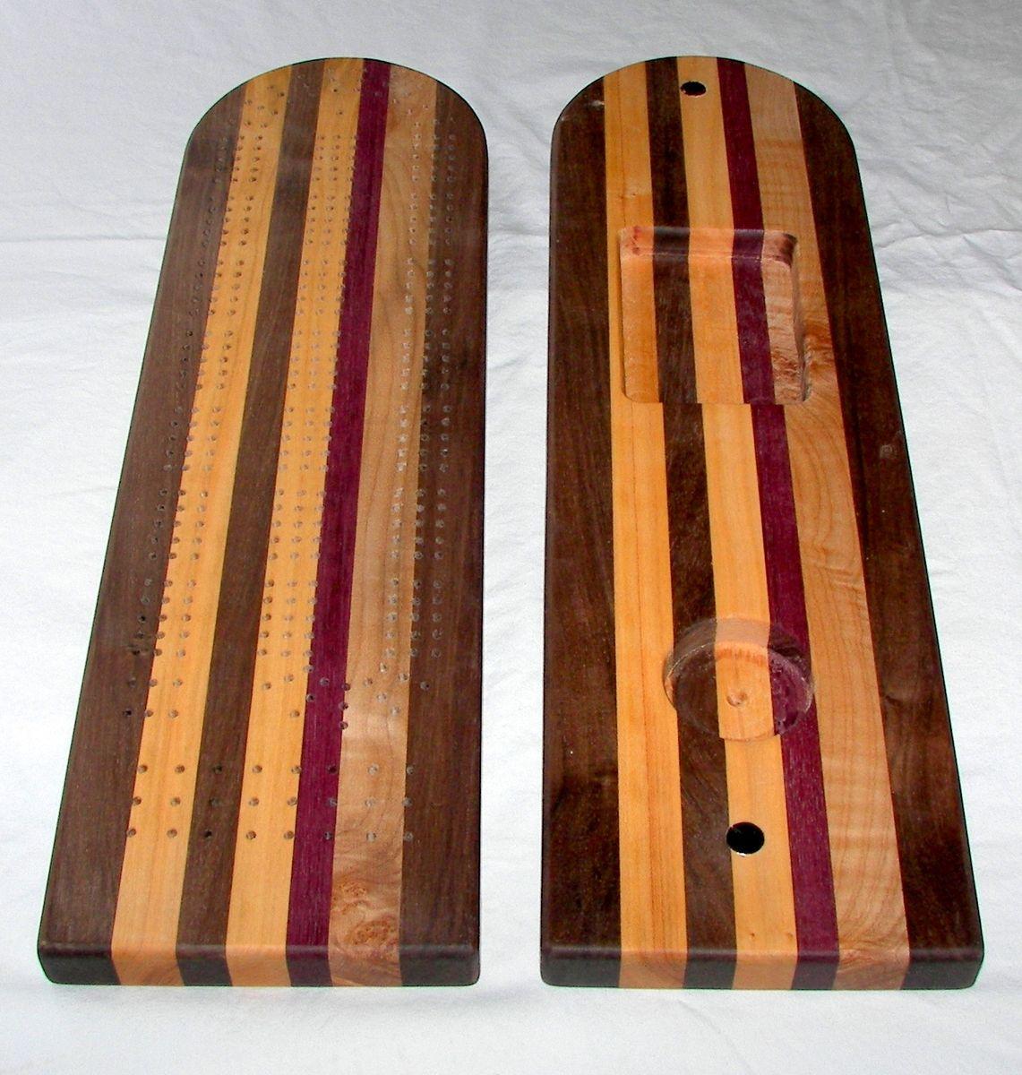 Handmade Custom Made Black Walnut Cherry Amp Maple 3 Track