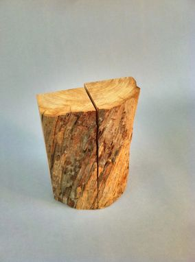 Custom Made Redwood Book Ends