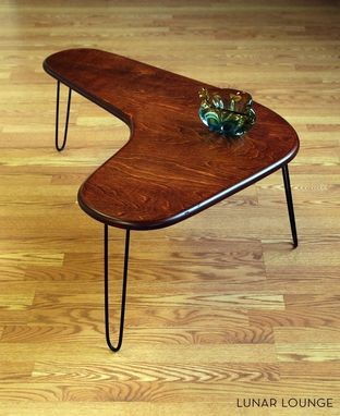Custom Made Booma Rang Coffee Table - Mid Century Modern Design