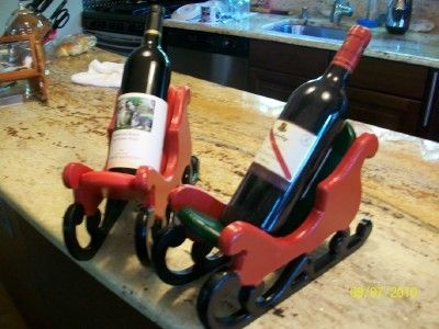 Custom Made Wine Sled