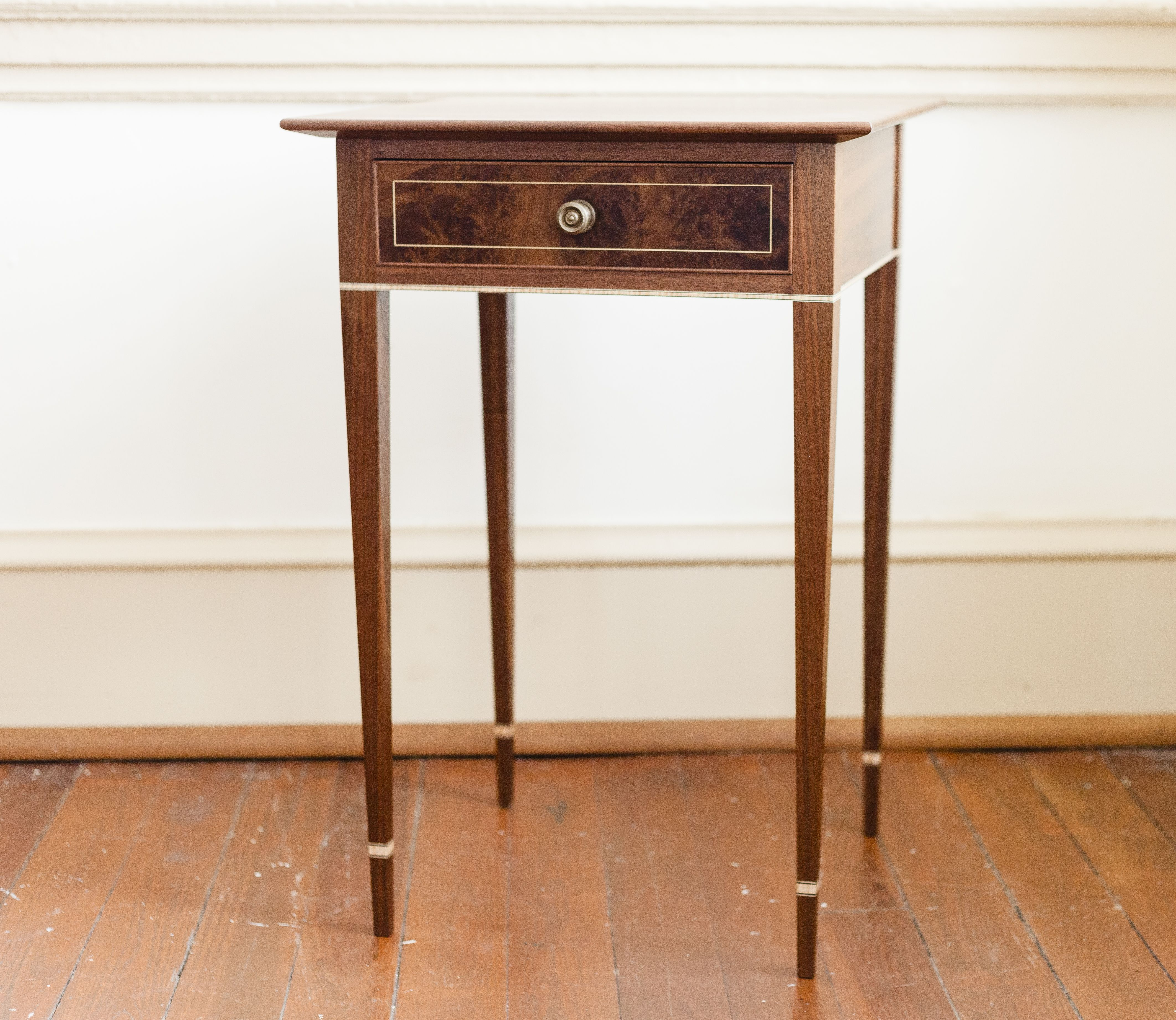 Handmade Federal Style Table By Greg Pilotti Furniture