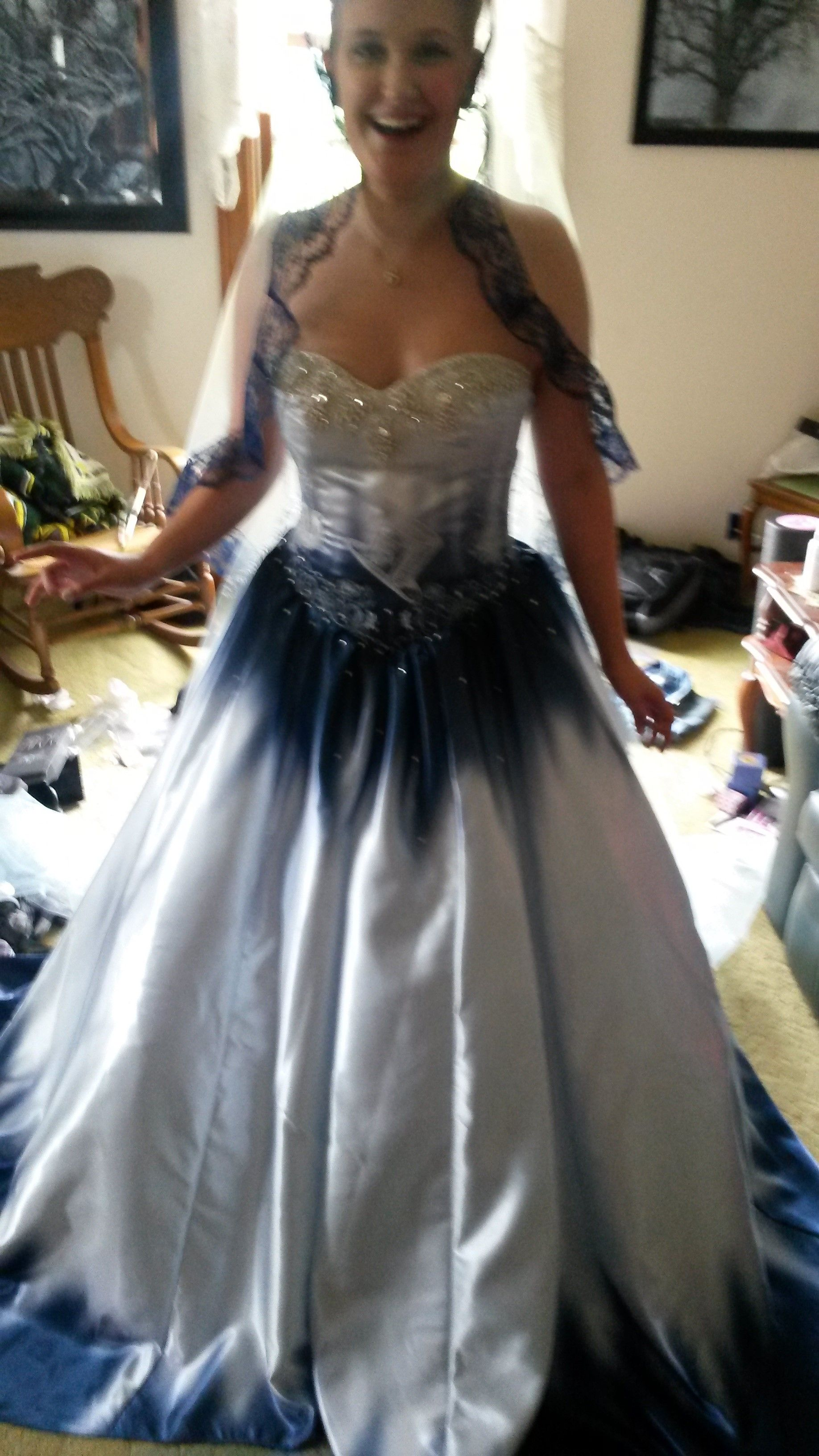 Custom Made Alice In Wonderland Wedding Dress