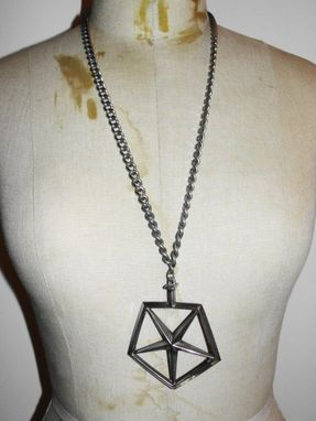 Custom Made Chrysler Pentastar Hood Ornament Necklace