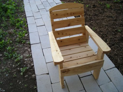 Custom Made Handmade Cedar Lawn/Deck Chair (Optional Footstool)