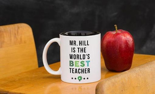 Custom Made Personalized Teacher Mugs