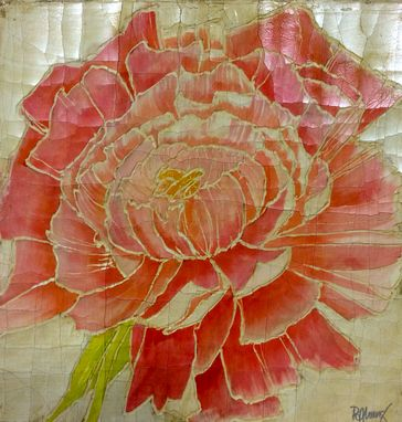 Custom Made Poppy & Peony Botanicals, Wall Art, Floral Paintings