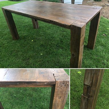 Custom Made Yes Sur Custom Handmade Farmhouse Table
