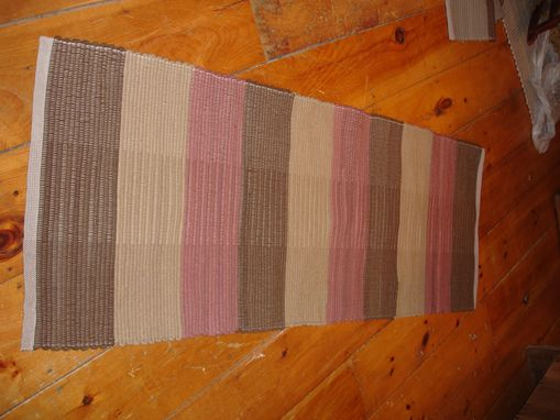 Custom Made Brown Hand Dyed Wool Rugs 2 Ft By 4 Ft Or Longer
