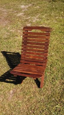 Custom Made Reclaimed Western Cedar Camp Chairs