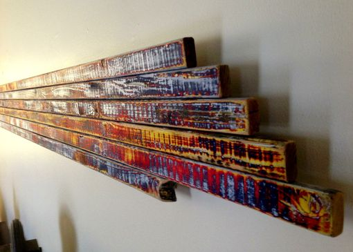 Custom Made Reclaimed Wood Sculpture