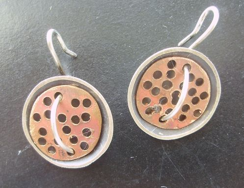 Custom Made Silver Domes With Pierced Copper
