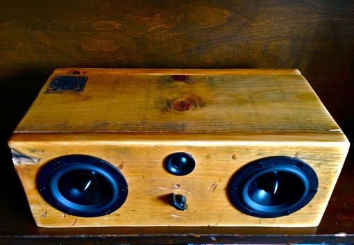 Custom Made Bluetooth Speaker System - Big Natural Box