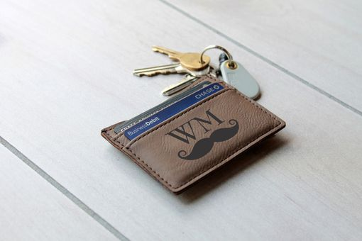 Custom Made Custom Money Clip --Lmc-Db-Mustache