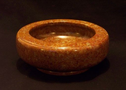 Custom Made Orange Bowl