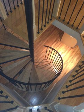 Custom Made Tables, Custom Ladder, Spirals, Glass Railing