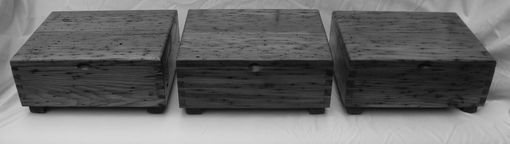 Custom Made Wormy Chestnut Boxes