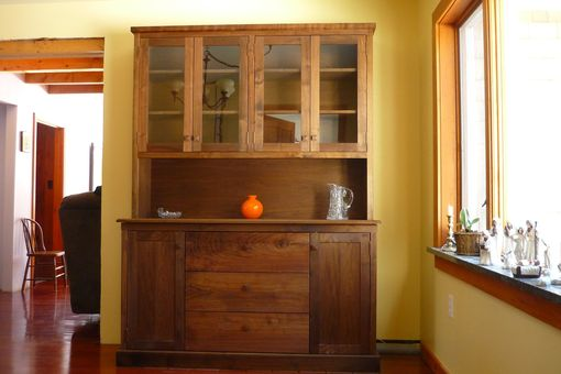Custom Made Custom Walnut Hutch