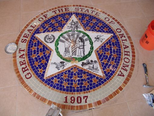 Custom Made Oklahoma State Medical Board Mosaic