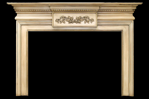 Custom Made French Montreal Wood Mantel