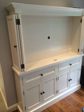 Custom Made Tv Hutch