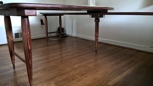 Custom Made Mid-Century Desk For Teleworkers